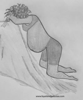 labor on knees